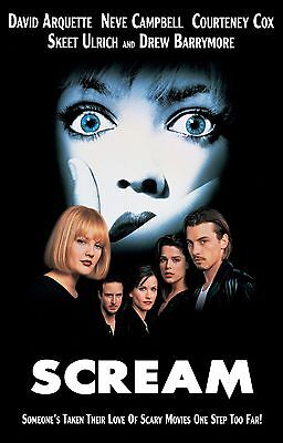 SCREAM Movie Poster - Horror