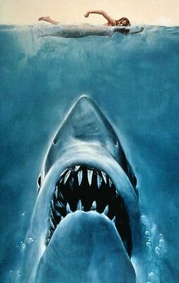 JAWS Movie Poster (1975) Art