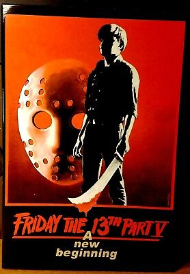 """Neca Friday the 13th Ultimate Part 5 V Jason Voorhees 7"""" Scale Action Figure MIB"""