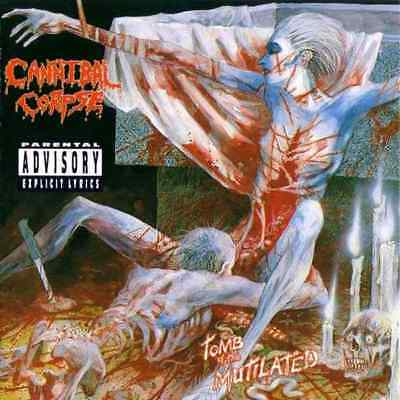 CANNIBAL CORPSE - Tomb Of The Mutilated Art Print Poster 12 x 12