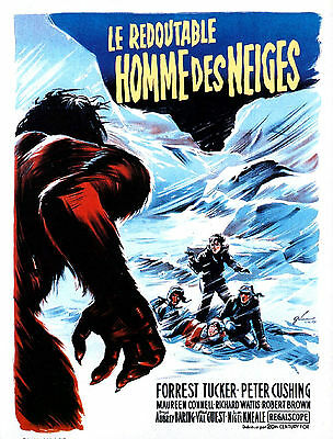 ABOMINABLE SNOWMAN OF THE HIMALAYAS Movie POSTER Hammer Horror