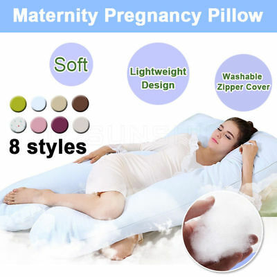 Women Maternity Pregnancy Pillow Sleeping Nursing Body Support Feeding Boyfriend