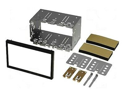 DIN5 - KIT SUPPORT CADRE DOUBLE DIN Autoradio 2 DIN 2 ISO FORD / SEAT