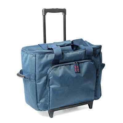 Sew Easy Navy Sewing Machine Trolley Bag 56 x 26 x 46cm.