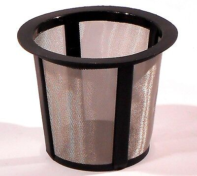 BECHERSIEB FEINMASCHIG 51x41mm Kunststoff / Metall FEIN SIEB FILTER z.B. LABOR