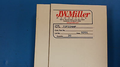 (5 PCS) 72F224AP JW MILLER RF FIXED INDUCTOR 220uH 5% AXIAL LEAD