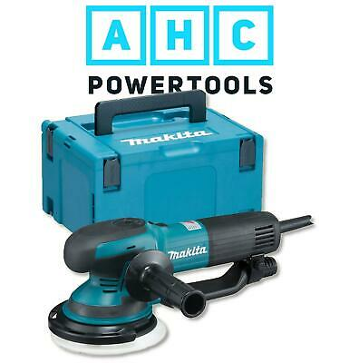 "Makita BO6050J Random Orbit Sander 150mm (6"") with Roto Mode 240V"