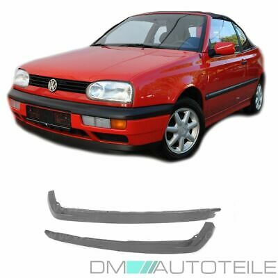 VW Golf 3 Frontspoilerlippe Set CL-Lippe Rechts & Links 91-97 alle Modelle Neu