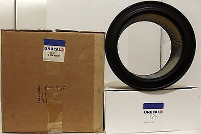 Case Lot of 3 Unocal 76 AF-6255 Air Filters - WIX 46255