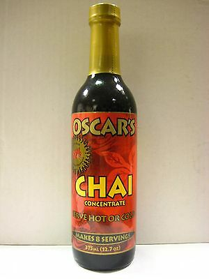 Oscars Chai Concentrate Flavoring Syrup 375 mL