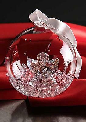 Swarovski Christmas 2015 Large Ball Ornament 5135821 Mint Boxed Retired Rare
