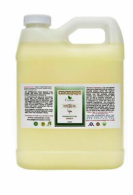 32 oz 100 % PURE AUSTRALIAN 7X REFINED EMU OIL PHARMACEUTICAL GRADE