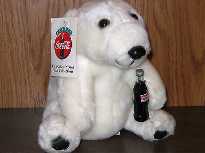 1993 Coca-Cola Polar Bear - with original tags