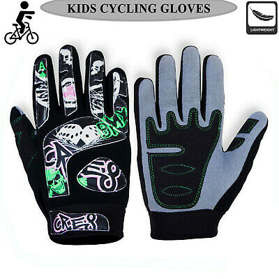 Kids Motocross Cycling Gloves Dirt Bike Gel Protector Off Road BMX Gloves