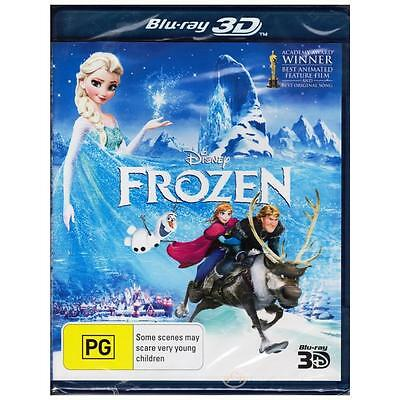 BLU-RAY FROZEN 3D DISNEY Animation Adventure Music 1-Disc REGION FREE ABC [BNS]