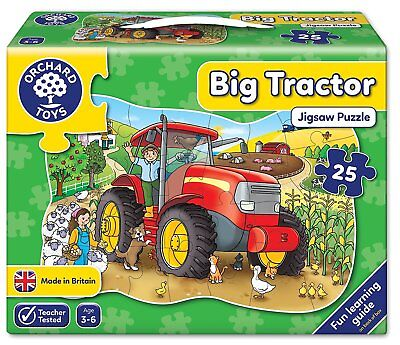 Big Tractor Puzzle Game - Orchard Toys Educational Games
