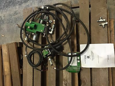 John Deere Planter Rear Hydraulic Outlet Kit USED!!JD part number is BA29766