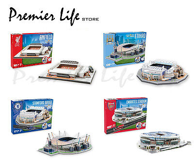 Official Football 3D Puzzles - Latest Stadium Designs
