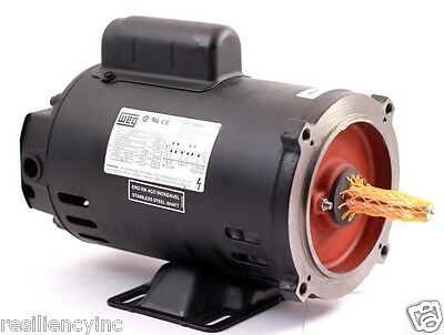 WEG 3/4 HP ODP Motor Continuos, 1 Phase #10488049, W56J, 3480 RPM, 115/208-230 V