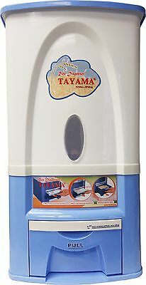 Tayama Rice Dispenser 25kg/50lbs Model PG-25 in Blue