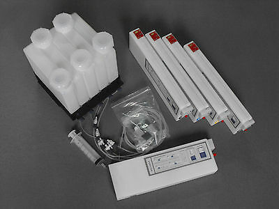 Bulk ink System for Epson 7700/9700 (5 color) With Auto Reset device. US Seller.