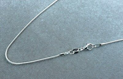 Genuine 2Mm 925   Silver Snake Chain Necklace All Inch Sizes Uk  Huge *Sale*