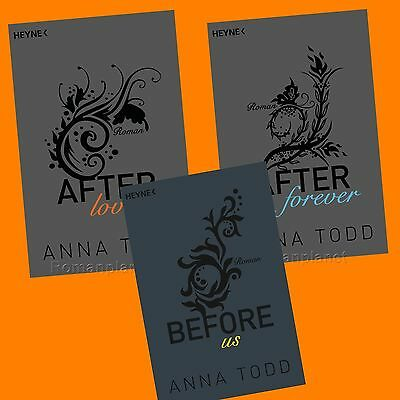 Anna Todd - After Band 3+4+5 - Love, Forever, Before us - Set - Erotik - Buch