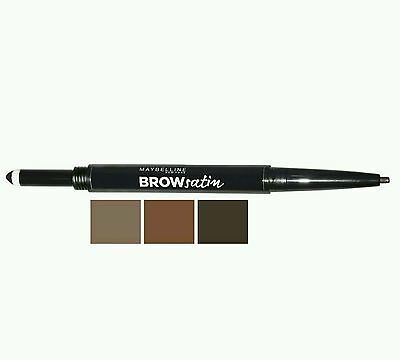Maybelline Brow Satin | Sculpting Duo Pencil & Filling Powder *CHOOSE SHADE*