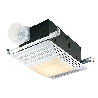 Bathroom Fan With Light Fixture Ceiling Exhaust Ventilation Air ...