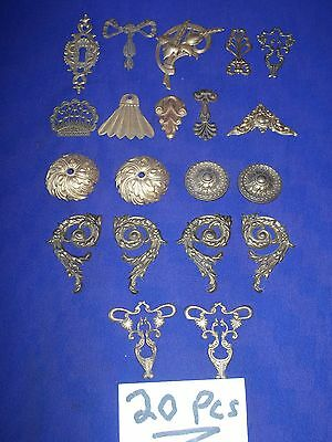 20 pieces vintage brass ormolu [ 20 pieces for $40 ]