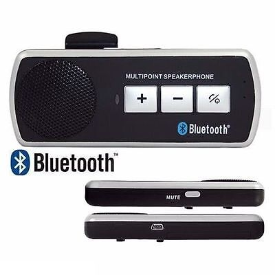 Kit Vivavoce Bluetooth Per Auto Universale Speaker Smartphone Tablet Cellulare