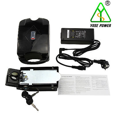 36v10.4ah electric bicycle bike Pedelec lithium-ion battery frog new+Charger
