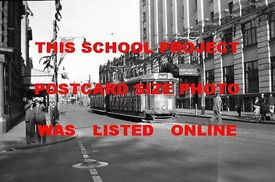 Newcastle Nsw 1948 148 Tram City Bank Photo $3