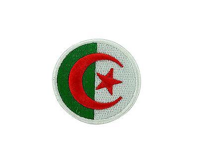 Patch ecusson brode thermocollant aviation cocarde drapeau Algerie air force