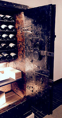 Exclusive Wine Cellar Safe Xviii Century Authenthic Antique Safe