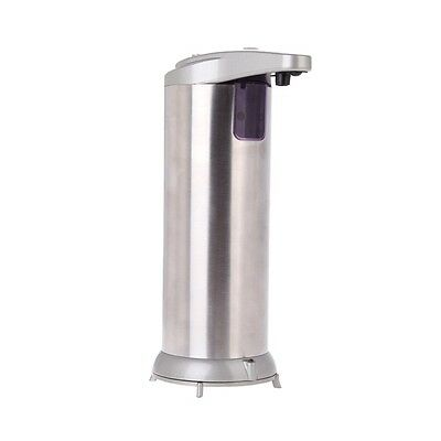 Automatic IR Sensor Stainless Steel Hand Free Soap Dispenser Sanitizer 280ML