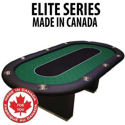 POKER TABLE SPS ELITE Full Bumper Green