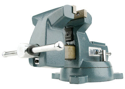 "Mechanics Vise 5"" Width Swivel Base Wilton 21400 New"