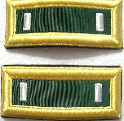 Army Shoulder Boards Straps Special Forces First Lieutenant Pair Male Nip