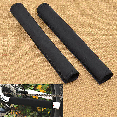 Bicycle Frame Chain Protector Magic Mat Cycling Chainstay Guard Cover 1 Pair