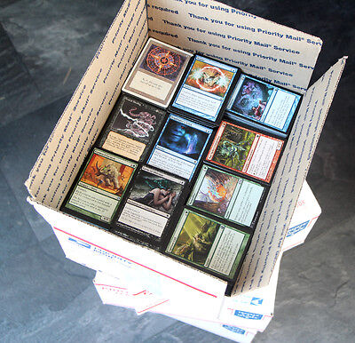 4000+ MAGIC THE GATHERING CARD COLLECTION mtg BETTER BULK Lot Uncommons Commons