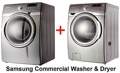 SPECIAL OFFER Samsung Commercial Washing Machine WF431 and Dryer DV431AEP Combo