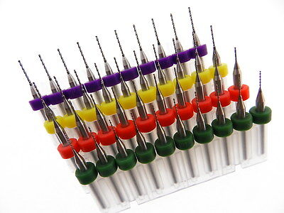40 pack .5mm .6mm .7mm .8mm Micro Drill Bit Kit Modeling Watch Repair more...