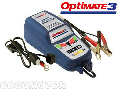 DESTOCKAGE Chargeur de batterie Optimate 3 TECMATE Battery Charger NEUF NEW