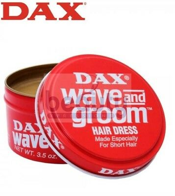 DAX HAIR WAX WAVE AND GROOM RED HAIR DRESS STYLE 99g