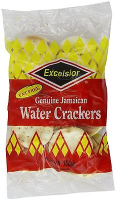 Excelsior Water Crackers 150g (Pack of 6)
