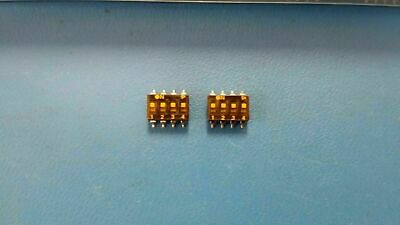 (3Pcs) Dmg104Lt 4 Position Dip Switch Surface Mount