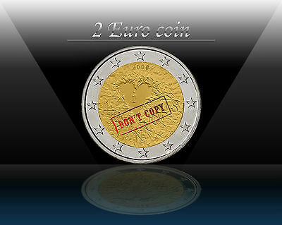 """FINLAND 2 EURO coin 2008 """" Human Rights """" Commemorative coin * UNCIRCULATED"""