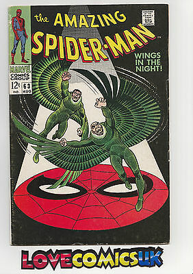 The Amazing Spider-Man #63 Silver Age  Marvel Comics