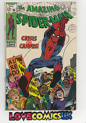 The Amazing Spider-Man #68 Silver Age Marvel Comics